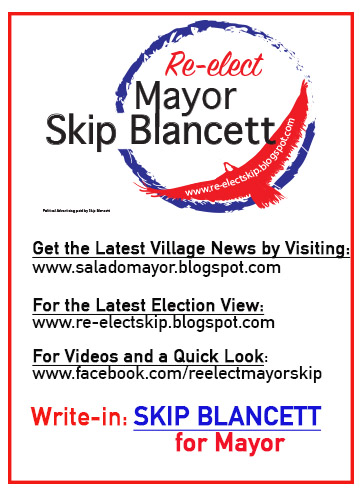 Re-elect Mayor Skip Blancett